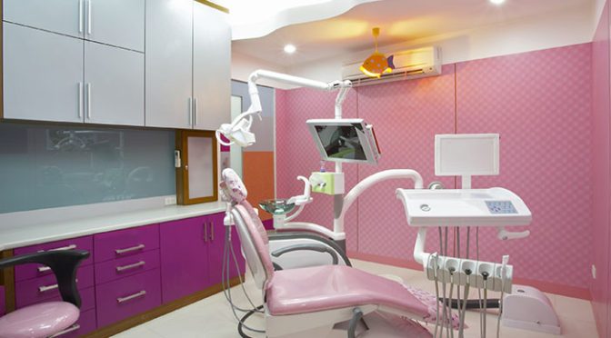 pink dental office
